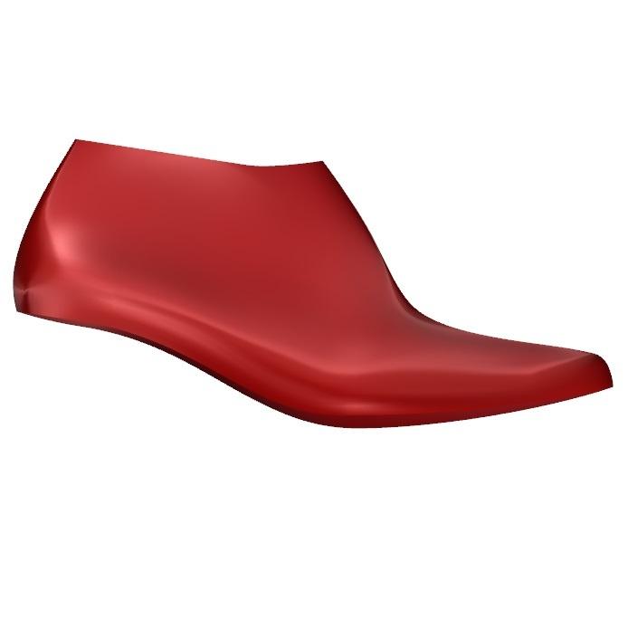 Manila Women's High Heel Shoe Last Side View