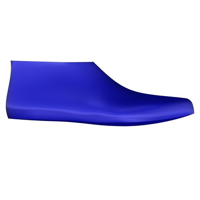 Oshawa Men's Pronated Shoe Last Side