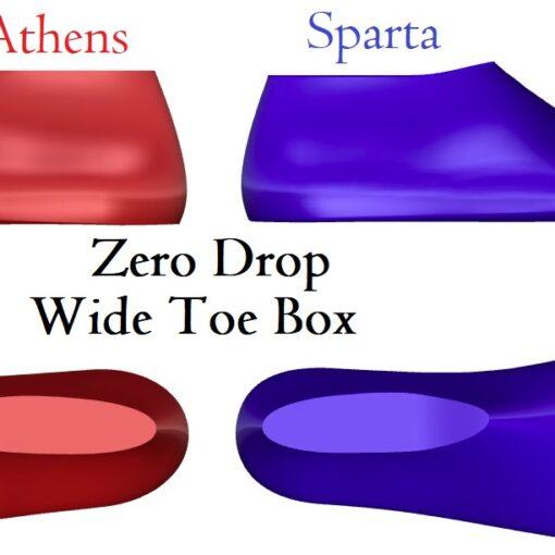 Zero Drop Shoe Lasts for Barefoot Shoes and Minimalist Fotowear
