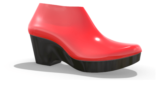 Classic Platform with Matching Shoe Last